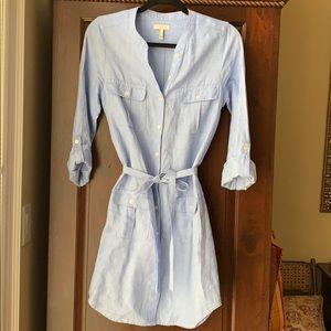 💙JOIE 💯 % linen shirt dress